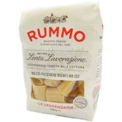 Rummo Mezzi Paccheri Rigate 500g | No. 152 | Buy Online | Italian Ingredients | UK
